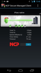 NCP Secure Managed Client_Android
