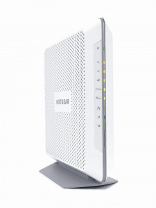 NETGEAR-C7000B-FrontLeft-Perspective-withLights