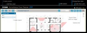 D-Link Surveillance Floor Planner Pro