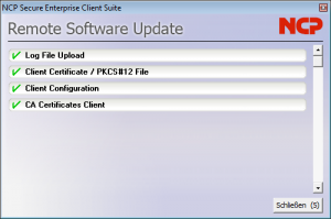 Bei Bedarf können die Administratoren die Windows-Clients so konfigurieren, dass sie nach jedem VPN-Verbindungsaufbau ihre Konfiguration aktualisieren