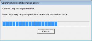 Der Verbindungsaufbau zur Mailbox