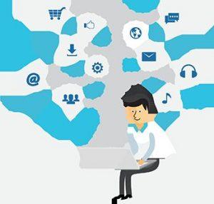 """Bestens geeignet für den Mittelstand: Die sichere und skalierbare Cloud-Software für Social Logins """"CIDaaS"""" von WidasConcepts ermöglicht einen sicheren Zugang mit niedrigen Eintrittsbarrieren zu Portalen, Webshops oder mobilen Apps. (Bild: WidasConcepts GmbH)"""