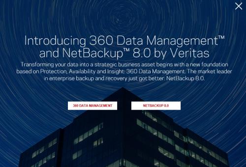 Veritas führt Enterprise-Data-Management-Lösung auf Basis von NetBackup 8 ein