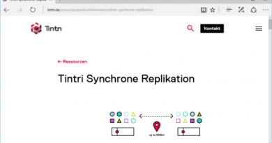 Tintri Synchronous Replication ab sofort verfügbar