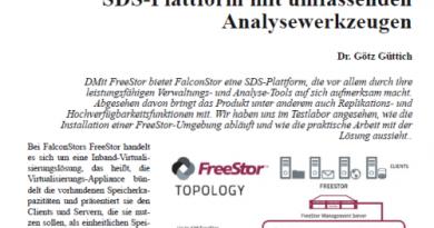 Im Test: FreeStor von FalconStor