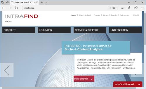 Enterprise Search für unterwegs: iFinder5 elastic als App für iOS