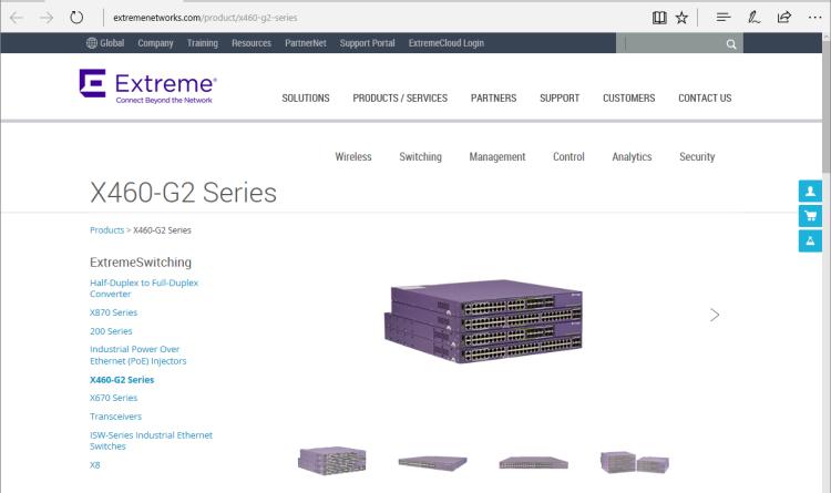 Extreme Networks stellt neue Ethernet Switching Plattformen vor