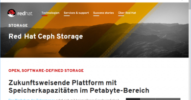 Red Hat Ceph Storage 2.3 baut Object-Storage-Funktionen weiter aus