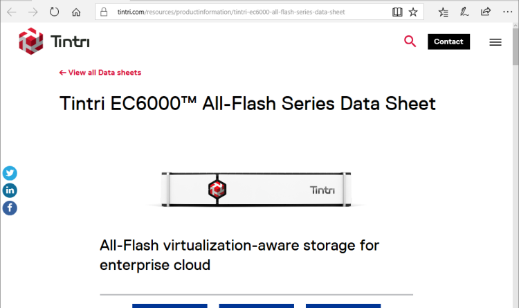 Tintri stellt neue hoch skalierbare EC6000-Serie vor