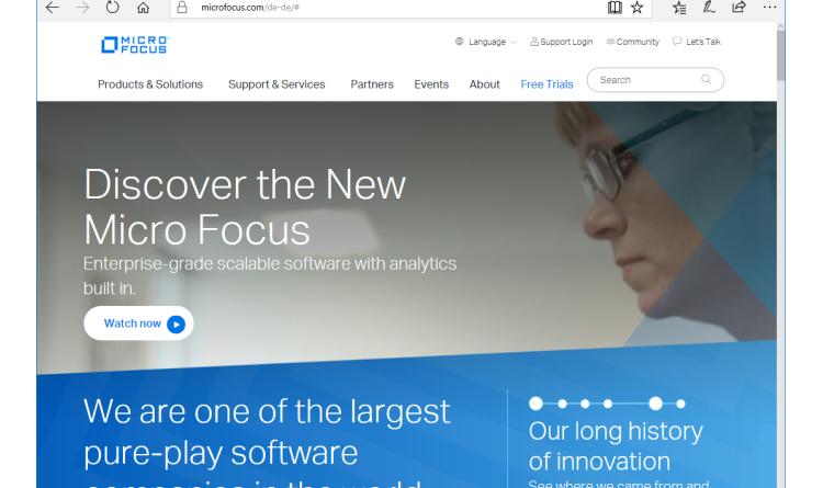 """""""Das Neue schützen"""": Erweitertes Portfolio von Micro Focus Security für offene, intelligente und umfassende Sicherheit"""