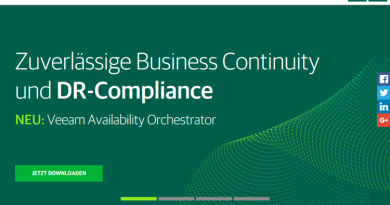Veeam Availability Orchestrator vereinfacht Disaster Recovery