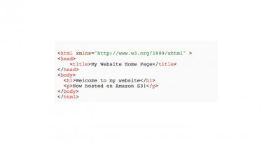 Betreiben einer vollständigen, statischen Website mit Amazon S3