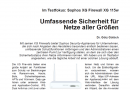 Im Testfokus: Sophos XG Firewall XG 115w