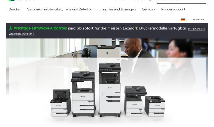 Lexmark präsentiert neue Generation von Schwarz-Weiß-Druckern und MFPs für große Arbeitsgruppen