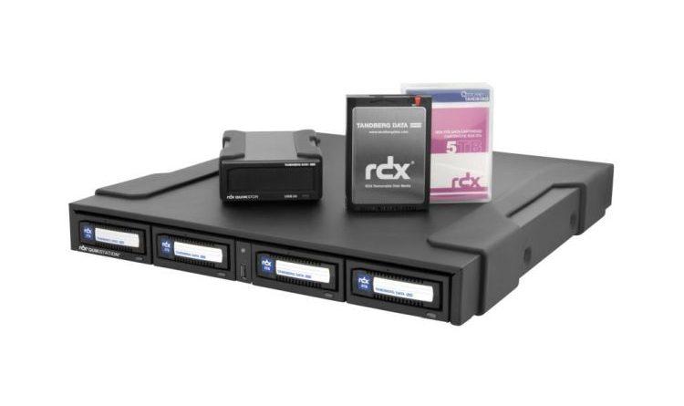 RDX-Laufwerke integrieren Hardware-Verschlüsselung