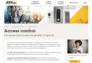 Axis präsentiert neuen Netzwerk-Tür-Controller für Zutrittskontrolle bei großen Installationen
