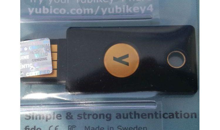 Im Kurztest: Zwei Faktor-Authentifizierung mit dem YubiKey 4 von Yubico
