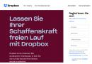 Mehr Speicherplatz in Dropbox Professional und Business Standard