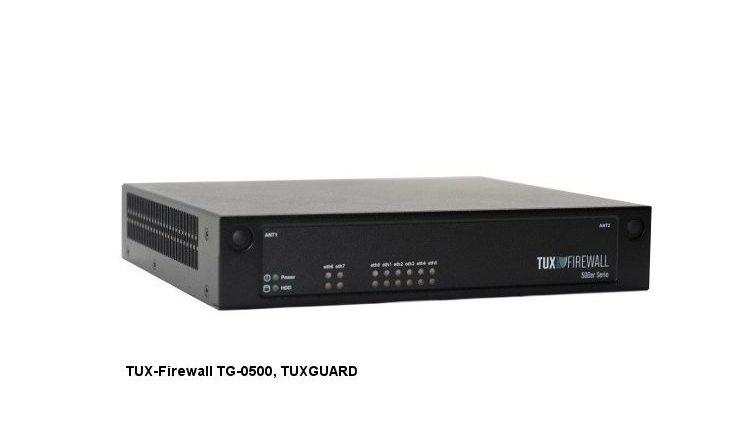 DSGVO-konform – Die neue TUX-Firewall TG-0500