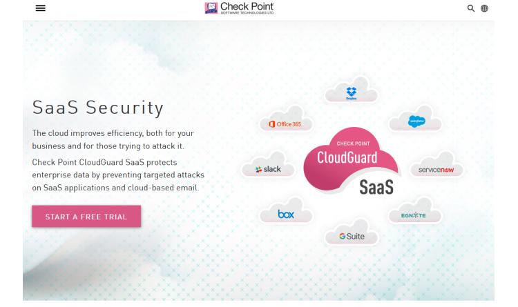 Check Point kündigt die allgemeine Verfügbarkeit von CloudGuard SaaS gegen Sicherheitsbedrohungen für SaaS-Anwendungen an
