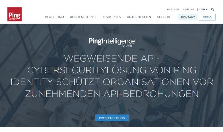 API-Cybersecuritylösung von Ping Identity schützt Organisationen