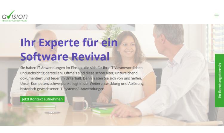 Renovieren statt abreißen: Avision nennt acht gute Gründe für die Modernisierung von Legacy-Software
