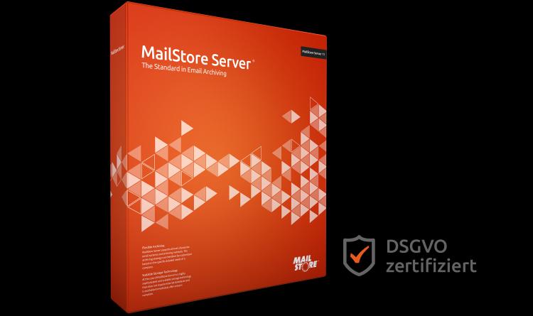 DSGVO-konforme E-Mail-Archivierung mit MailStore