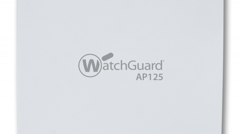 Mit dem 802.11ac Wave-2-Access-Point AP125 ebnet WatchGuard der WLAN-Nutzung den Weg