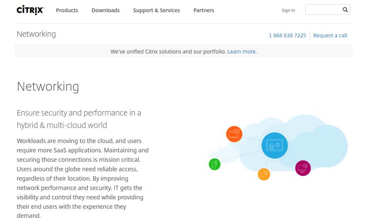 Netzwerk-Lösungen von Citrix für die Google Cloud Plattform