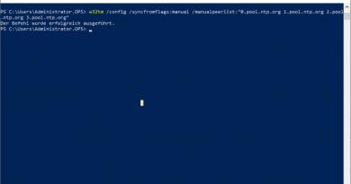 Zeitumstellung in Windows Domäne hat nicht funktioniert