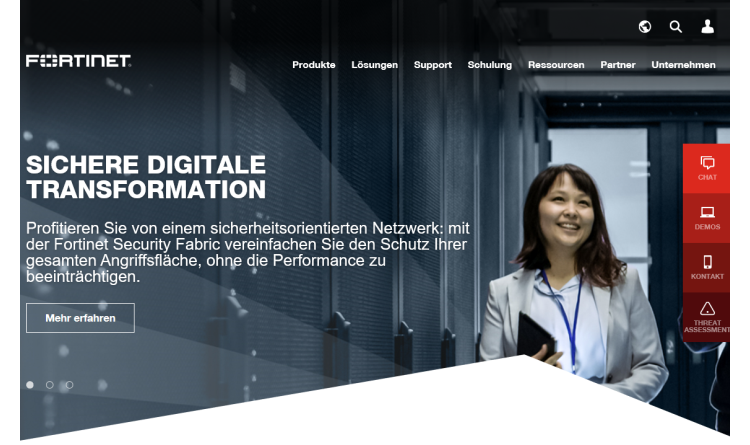 Fortinet erweitert Security Fabric um Cyber-Security-Funktionen der dritten Generation