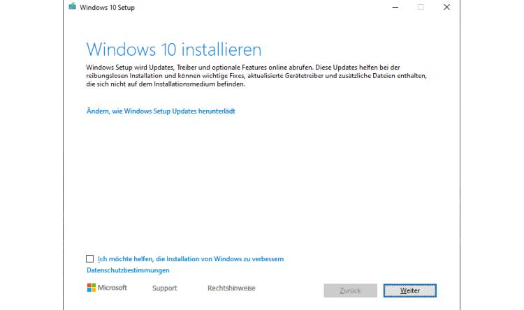 Windows 10 1903 benötigt keine 32 GByte freien Festplattenplatz