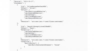 Multi-Faktor-Authentifizierung in der AWS Management Console konfigurieren