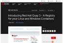 Red Hat stellt mit Quay 3 eine Registry für Linux- und Windows-Container vor