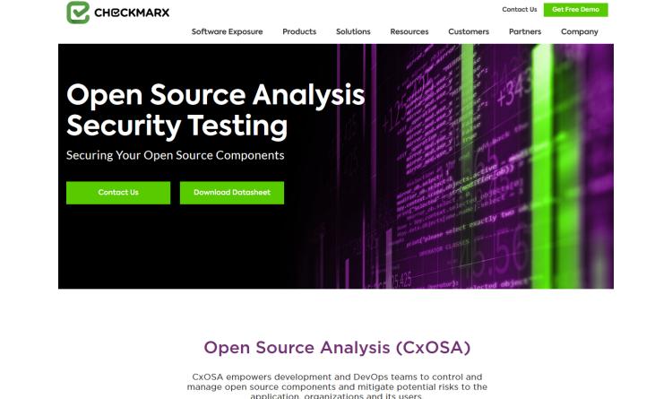 Checkmarx präsentiert neue SCA-Lösung für die Analyse von Open-Source-Komponenten