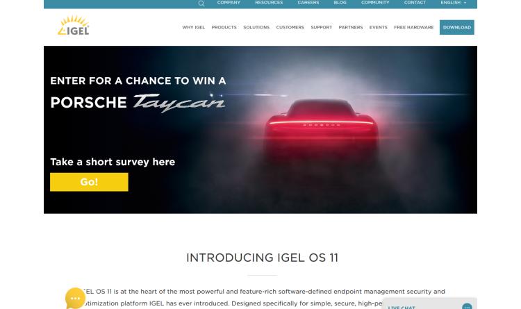 IGEL bietet volle Unterstützung für Amazon WorkSpaces