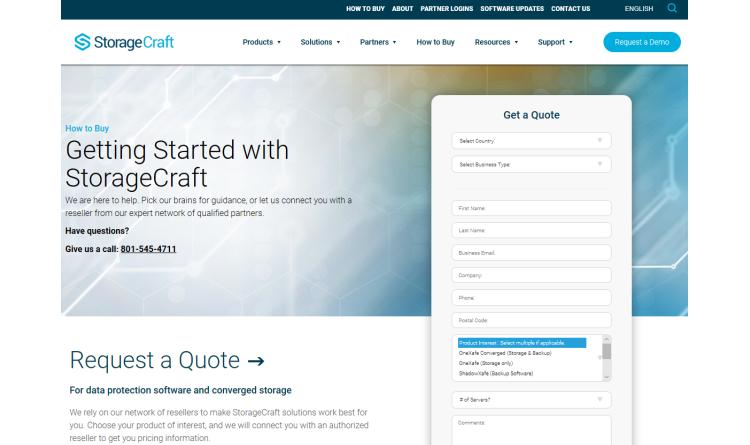 StorageCraft ShadowXafe sorgt für einfachen und skalierbaren Datenschutz und -wiederherstellung