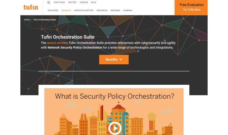 Neue Version von Tufin Orchestration Suite mit richtlinienbasierter Automatisierung für das Klonen von Servern