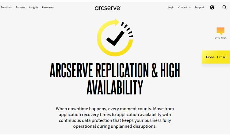 Neues Arcserve Replication and High Availability-Release für Hochverfügbarkeit von Systemen und Anwendungen mit Continuous Data Protection