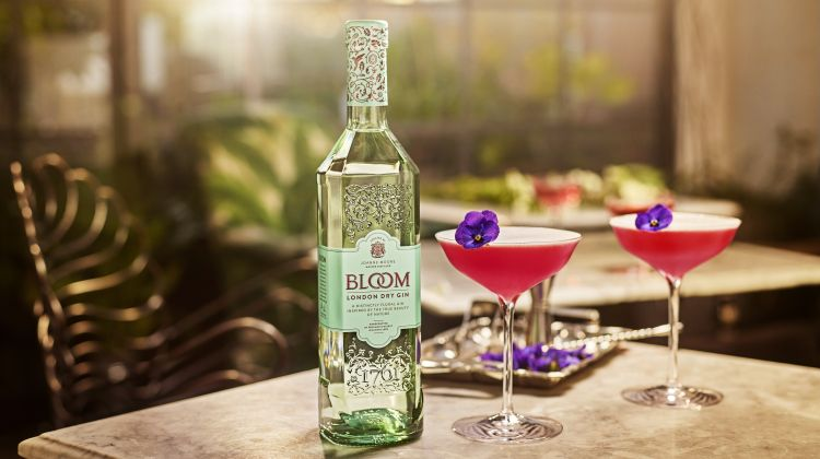 Bloom London Dry Gin garantiert Lebensfreude pur