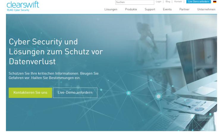 Sicherheitsrisiko Steganographie: Clearswift erweitert SECURE Email Gateway um neues Feature, damit Unternehmen dem Risiko Einhalt zu gebieten können