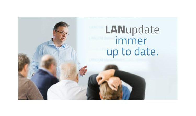 LANupdate Roadshow tourt wieder und führt Partner kostenlos in die LANCOM Management Cloud