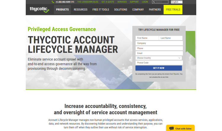 Alle Servicekonten unter Kontrolle mit dem Account Lifecycle Manager von Thycotic