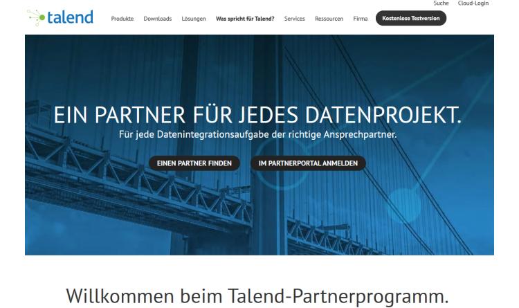 Talend startet neues Partnerprogramm für die Cloud