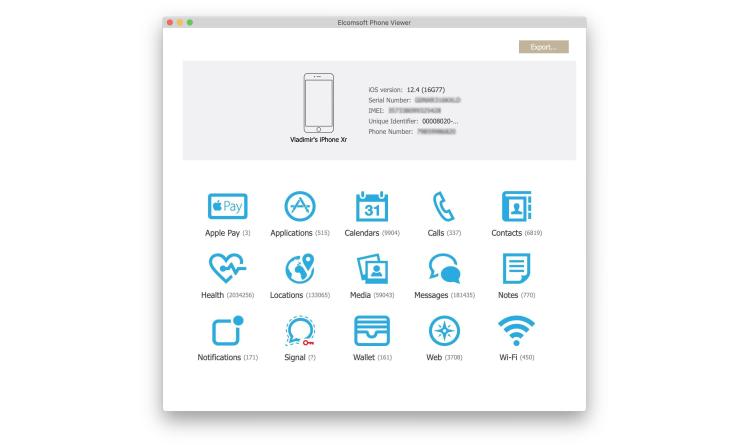 Forensik-Tool von ElcomSoft liest sichere Instant Messaging-App Signal aus