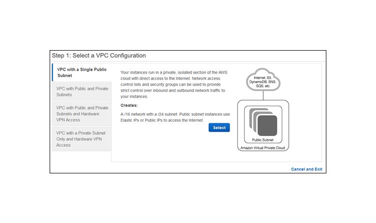 Eine Virtual Private Cloud für die Nutzung mit Amazon Aurora anlegen
