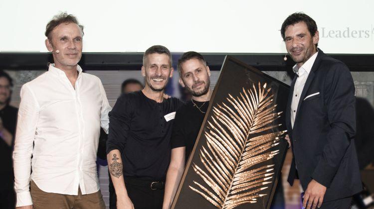 Die Gewinner der Goldenen Palme: David und James Ardinast (Bar Shuka, Frankfurt/Main)