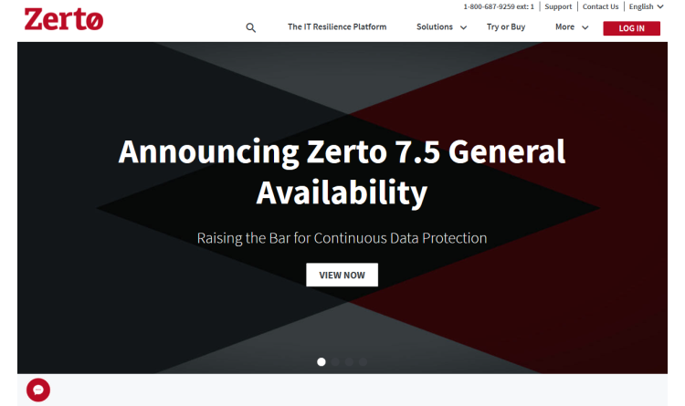 Zerto 7.5: IT-Resilience-Lösung in neuer Version