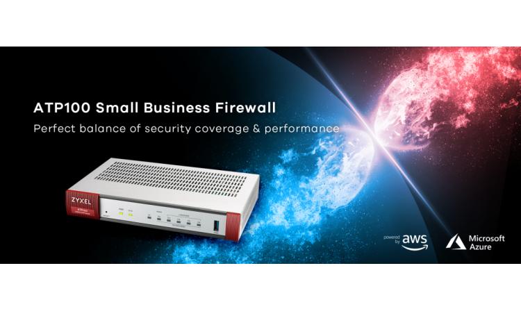 Umfassende Cybersicherheit für kleine Unternehmen mit der neuen Firewall ATP100 von Zyxel