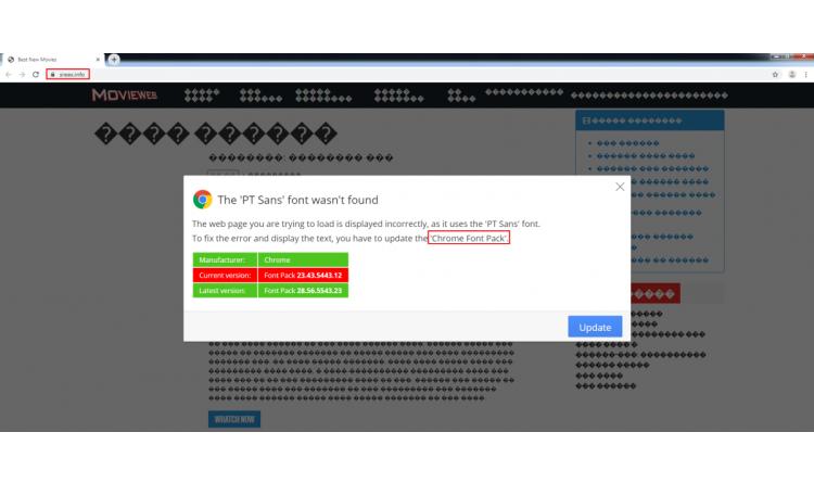 NetSupport RAT installiert sich über gefälschte Update-Benachrichtigungen